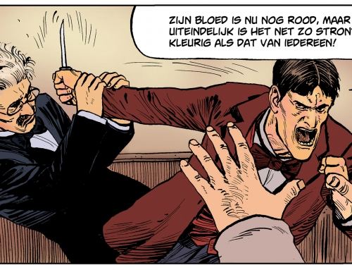 Vergeten strip Peter van Straaten nieuw leven ingeblazen