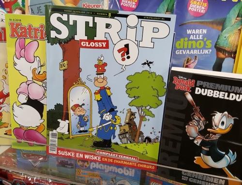 StripGlossy nr. 8 nu in de winkels!