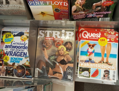 Ophef over StripGlossy nr. 9